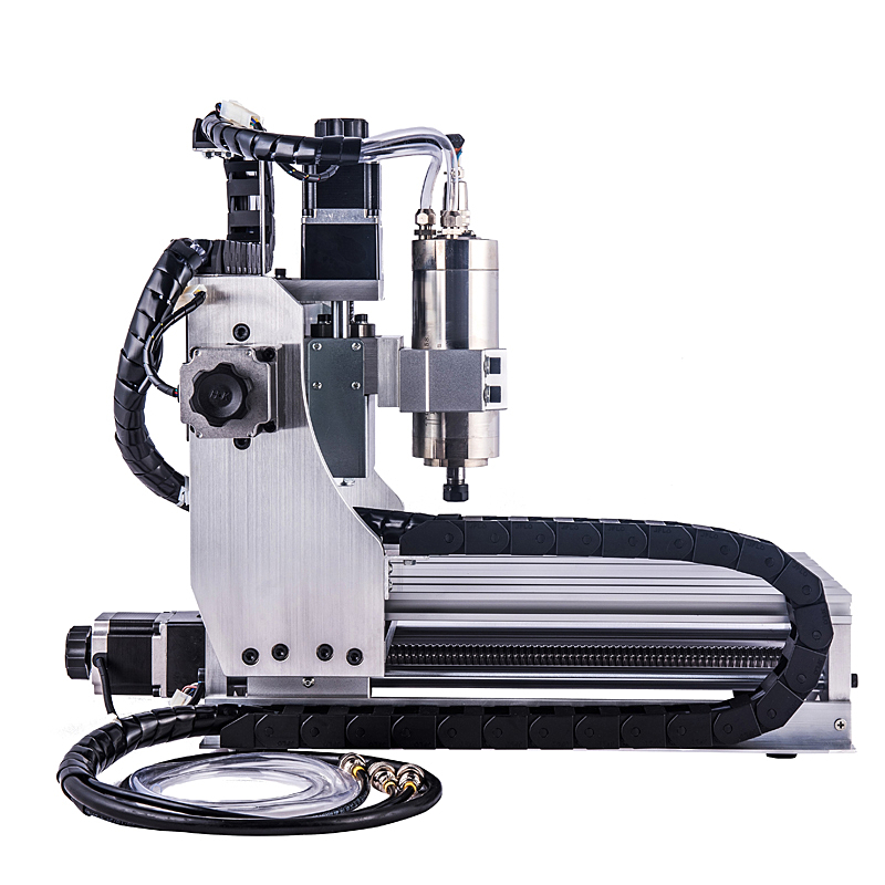 3 axes CNC Machine de gravure 3020 Z Mini routeur à bois 800 W broche de refroidissement par eau pour la coupe de métal - 5
