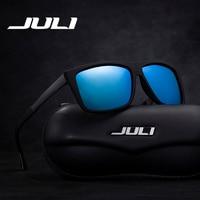 JULI Brand Men Sunglasses Polarized Fashion Cool Sports Men Sunglasses Male Driving Sun Glasses For Men