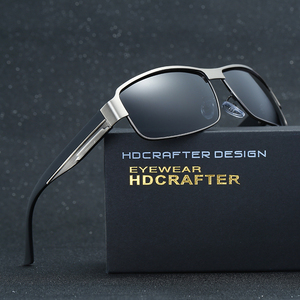 Image 3 - HDCRAFTER di Modo di Guida Occhiali Da Sole per Gli Uomini Polarizzati UV400 Del Progettista di Marca Occhiali Da Sole Da Uomo Oculos Maschio gafas de sol 2017 Hot