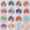 Tree of life- Garnet Crystal Agate Quartz Amethyst Sandstone Opal Jasper Lapis Beads Wire Wrap Round Pendant 1Pcs
