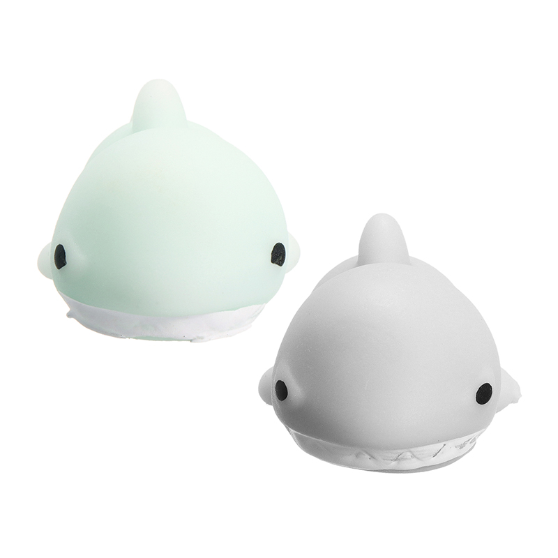 Shark Squishyed Toy Squeeze Cute Healing Squishying Toys Kawaii Collection Stress Reliever Gift Decor Novelty For Kids Childern