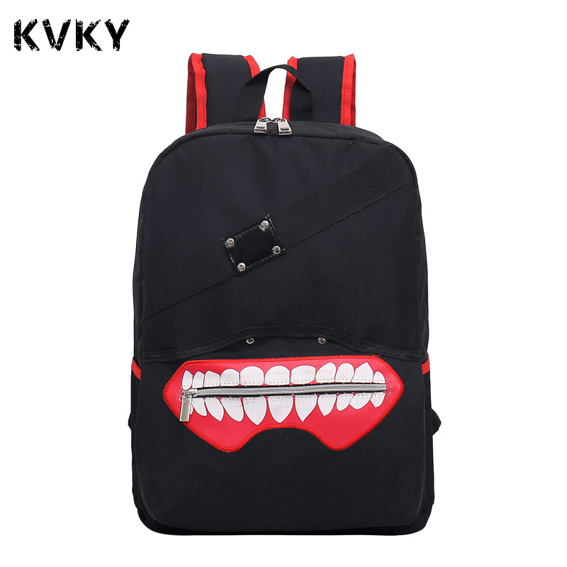 Anime Tokyo Ghoul Oxford Unisex Cartoon Pringting Backpack For Teenagers Boys Girls Fashion School Bags Student Tracvel Bag