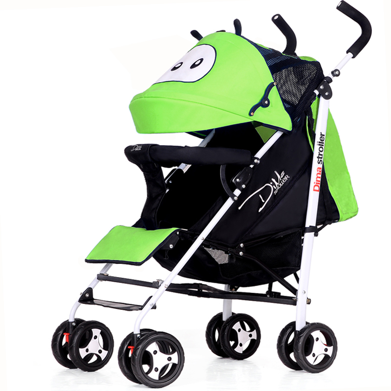 Cartoon Baby Stroller Lightweight Baby Carriage Buggy Portable Child Pushchair Prams For Newborn Folding Trolley bebek arabasi