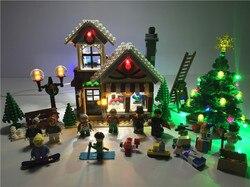 Led Licht Set Für Creator Winter Dorf Spielzeug Shop Kompatibel Mit Lego 10249 Gebäude Block Weihnachten Licht