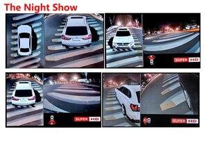 Image 3 - 1080P Super HD 360 Degree Surround Bird View System Panoramic View Car Cameras 4 CH DVR Recorder with G sensor DVR Quad core CPU