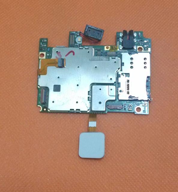 "Usado Original mainboard 3G RAM + 16G ROM Motherboard para Kingzone MTK6753 K2 4G LTE Núcleo octa 5.0 ""FHD 1920x1080 Frete grátis"