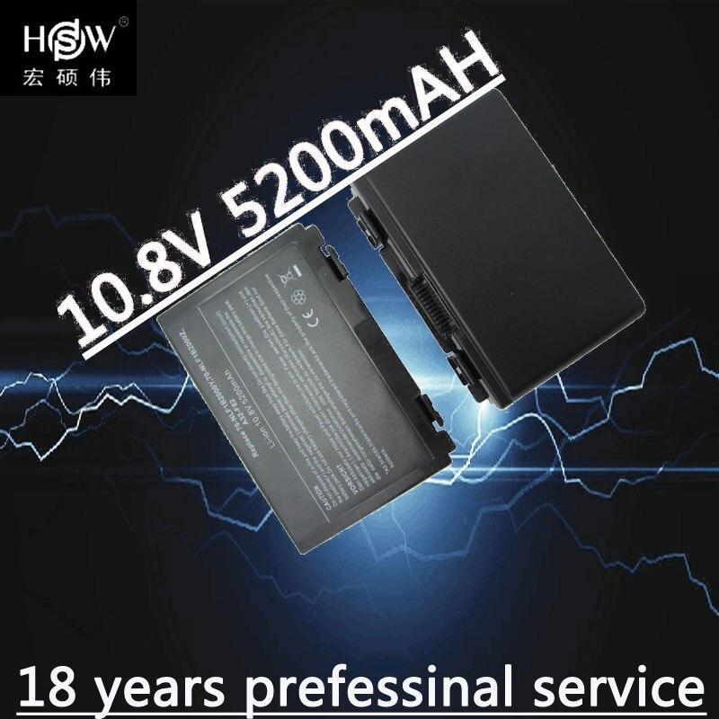 باتری HSW 6cells برای Asus k50ij k50ab a32 f82 k50id k42j - لوازم جانبی لپ تاپ