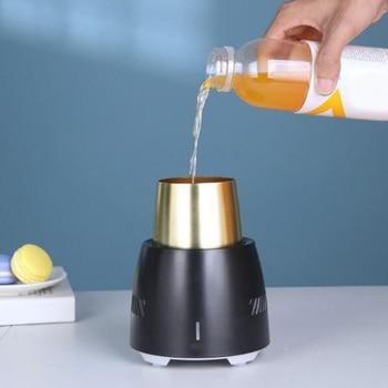 자동차 콜드 컵 냉동 휴대용 음료 홀더 음료 수 쿨러 미니 냉장고 새로운 2019