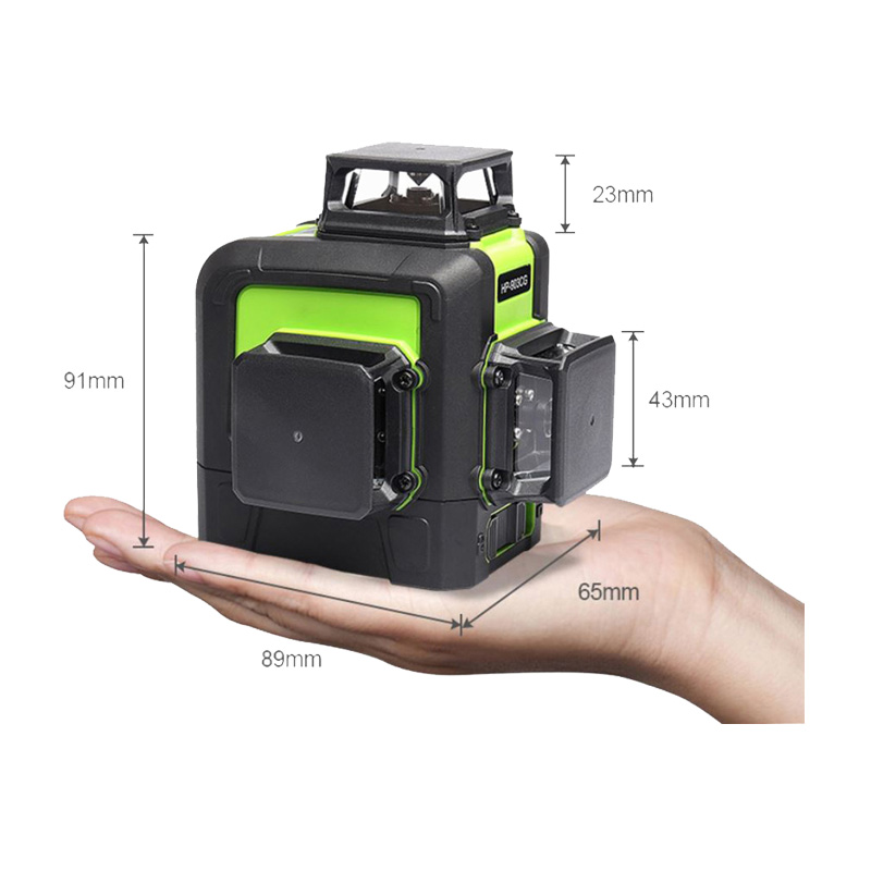 Norm 12 Lines Green/red Laser Level 8 Lines 5 Lines level Self Leveling 360 Horizontal and Vertical Powerful 3D Laser level Beam-in Laser Levels from Tools    2