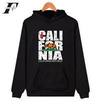 LUCKYFRIDAYF California Hooded Hoodies Men Sweatshirt Winter Fashion USA California Flag Hoodies Men Plus Size 4XL