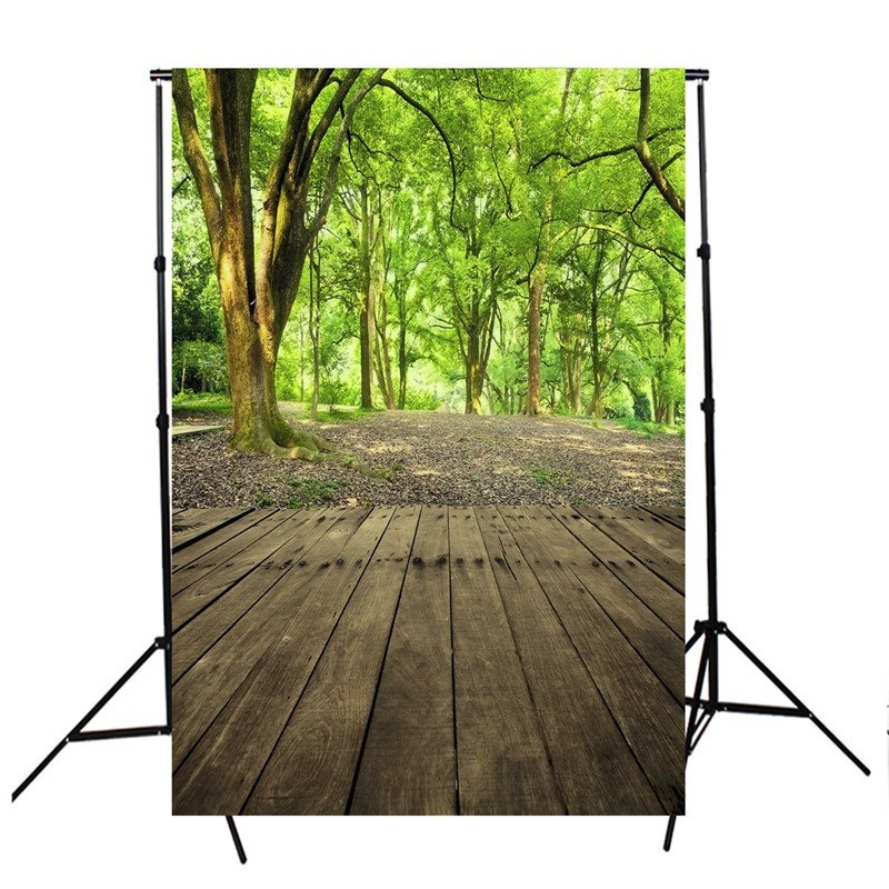 3x5ft Forest Scenery vinyl Photography Background For Studio Photo Props Photographic Backdrops 90cm X 150cm light weight kidniu scenery photography backdrops trees lake photo props wallpaper winter snow vinyl background for studio 9x5ft win1403