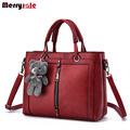 Women's bag 2017 new wave of women leather handbags Messenger bag shoulder bag
