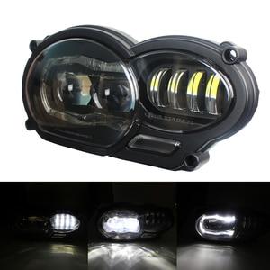 Image 2 - Мотоциклетные аксессуары, светодиодная фара в сборе с DRL, оригинальный комплект для BMW R 1200 GS 2008 2009 2010 2011