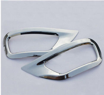 Chrome Rear Tail Fog Light Lamp cover Trim for Jeep Grand Cherokee 2011 - 2014 фото