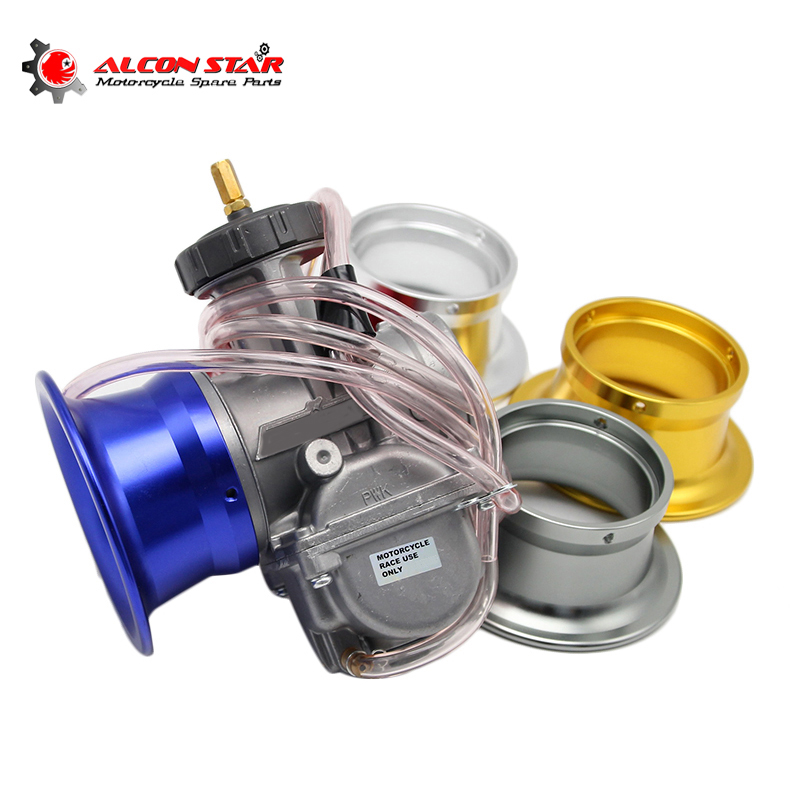 Alconstar- 63mm Motorcycle Carburetor Air Filter Cup Wind Cup Horn Filter Cup Fit <font><b>PWK</b></font> <font><b>34mm</b></font> 36mm 38mm 40mm 42mm Carburetor image