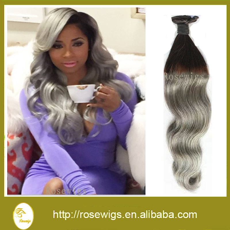 7a Ombre Hair Extensions 3pcs Malaysian Virgin Hair Body Wave Two
