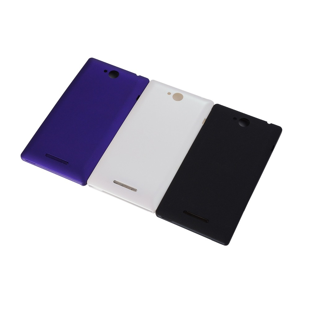 New Back Cover For Sony Xperia C C2304 C2305 S39 S39h S39c Housing Battery Cover Case