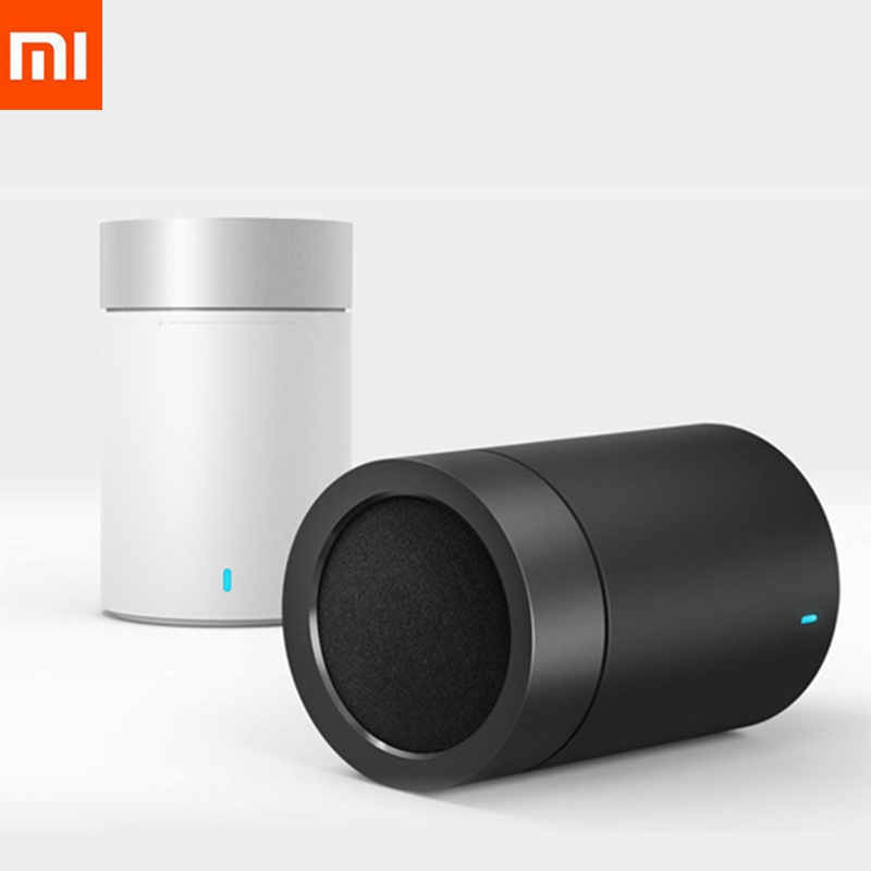Xiaomi Speaker Music-Player Subwoofer Cannon Bluetooth Hands-Free 2-Steel 1 With Mic