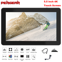 Pergear A6 Plus Touch Screen Monitor 5.5 Inch LED Screen 1920*1080 4K HDMI 3D LUT On Camera Field DSLR Monitor for Stabilizer