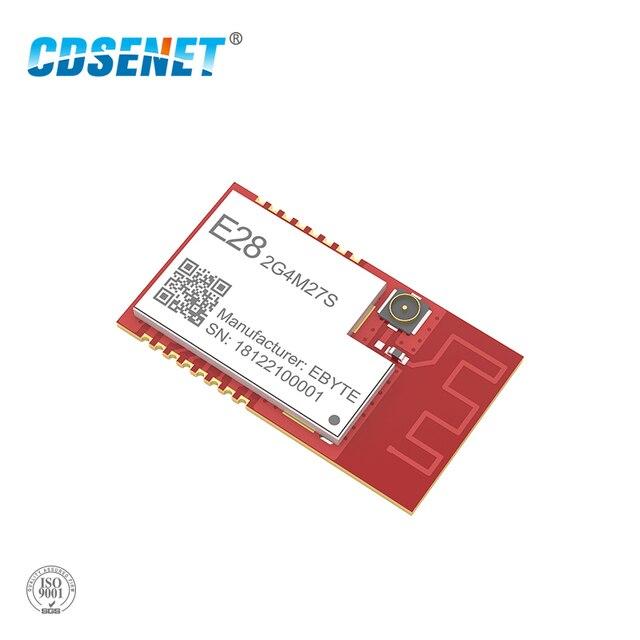 SX1280 500 mW LoRa Modulo BLE 2.4 GHz Wireless Transceiver E28 2G4M27S SPI A Lungo Raggio 2.4 ghz BLE Trasmettitore rf 2.4 GHz Ricevitore