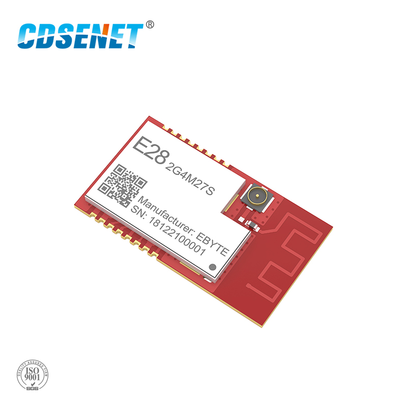 SX1280 500mW LoRa BLE Module <font><b>2.4</b></font> <font><b>GHz</b></font> Wireless Transceiver E28-2G4M27S SPI Long Range <font><b>2.4</b></font> <font><b>ghz</b></font> BLE rf <font><b>Transmitter</b></font> 2.4GHz Receiver image