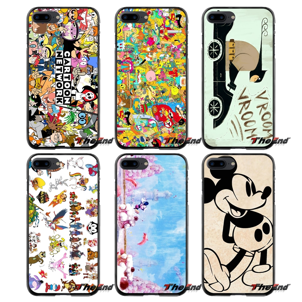 Accessories Phone Cases Covers Old Cartoon For Apple iPhone 4 4S 5 5S 5C SE 6 6S 7 8 Plus X iPod Touch 4 5 6