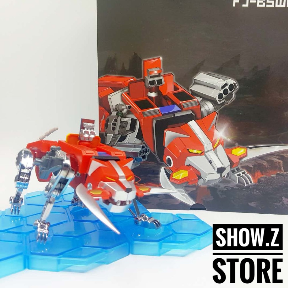 [Show.Z Store] Fantasy Jewel FJ-BSW01 Red lion Voltron Defender of the Universe Action Figure vixen return of lion