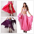 Hot! New Fashion Brand Adult  dancer Latin Salsa female Belly Dancing costumes performance wear Sexy Latin Dance Skirts