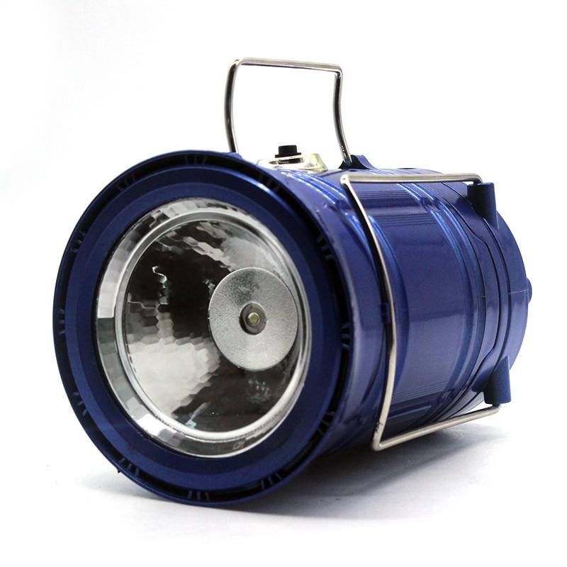 Lanternas Portáteis azul usb recarregável de energia Modelo Número : Portable Lanterns