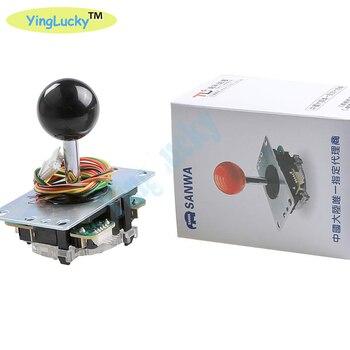 Joystick sanwa Original de Japón JLF-TP-8YT lucha balancín con DIY joystick kti jamma MAMI Máquina de juego de salón recreativo accesorios/Cabine