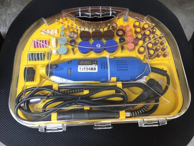 Kit ferramenta rotativa, Jóia/relógio kit de polimento, Polimento Motor com 161 acessórios de polimento ferramentas de jóias e equipamentos