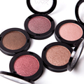 2016 a Marca de Maquiagem Única Sombra paleta de sombra Natural Luminous Shimmer Glitter Olho Sombra Em Pó Pigmento Paleta kosmetika