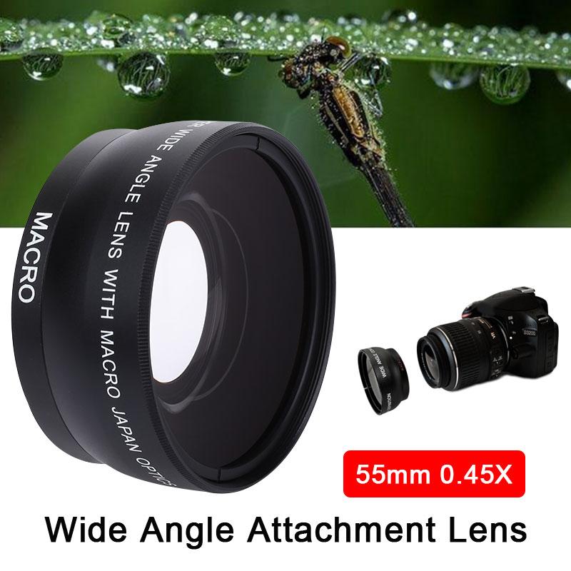0.45X объектив DSLR короткие фокусные фотографические аксессуары эффективный Professional конвертер увеличение камера Широкоугольный объектив