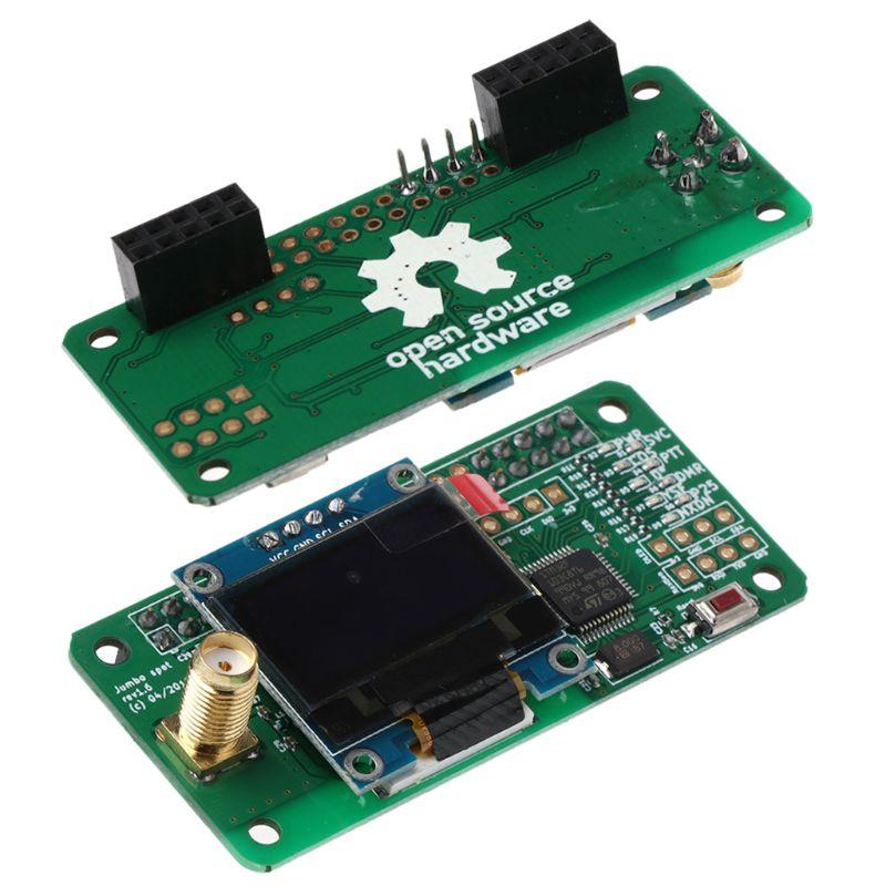 Support de Hotspot MMDVM P25 DMR YSF NXDN pour Raspberry Pi + OLED + Module de Hotspot d'antenne - 2