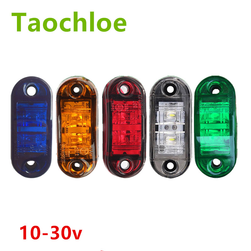 Automobiles & Motorcycles Car Light Assembly 12v Led Side Marker Light Turn Signal Indicator Lamps Clearance Lamp Truck Trailer Van Bus Ute E-marked Dot Sae