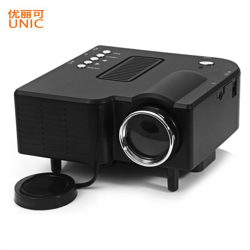 Original uc 40 portable home mini led projector hd 400 for Hd projector reviews