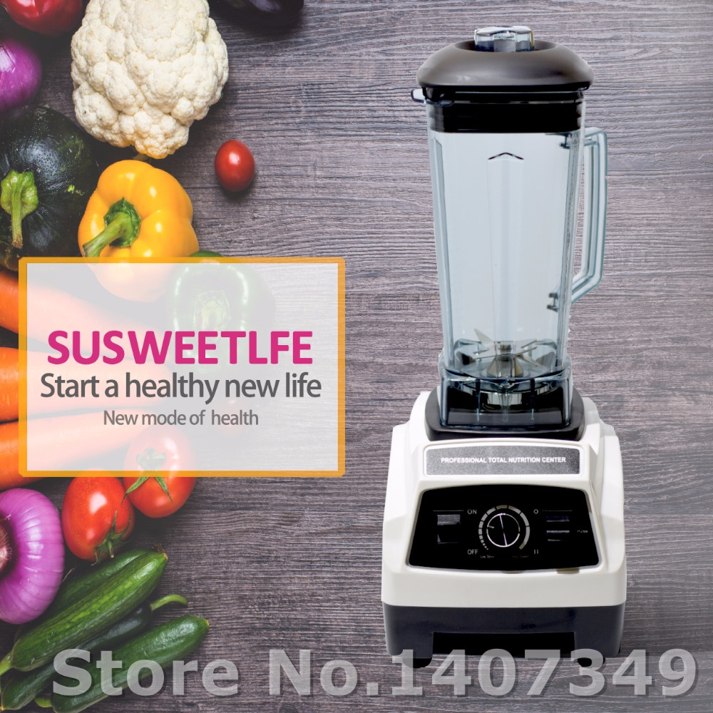 GERMAN Original Motor 3HP BPA FREE commercial smoothies power food mixer juicer electric food processor professional blender no 1 quality bpa free 3hp 2l heavy duty commercial blender professional power blender mixer juicer food processor japan blade