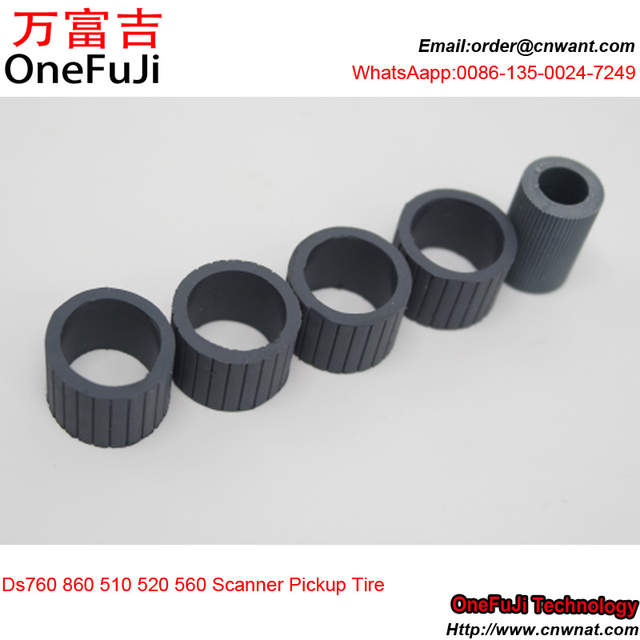 US $38 0  DS 760 DS 860 Paper Pickup Roller Tir kit rubber replacement For  Epson Scanner Pickup Tire Kit ds860 ds760-in Printer Parts from Computer &