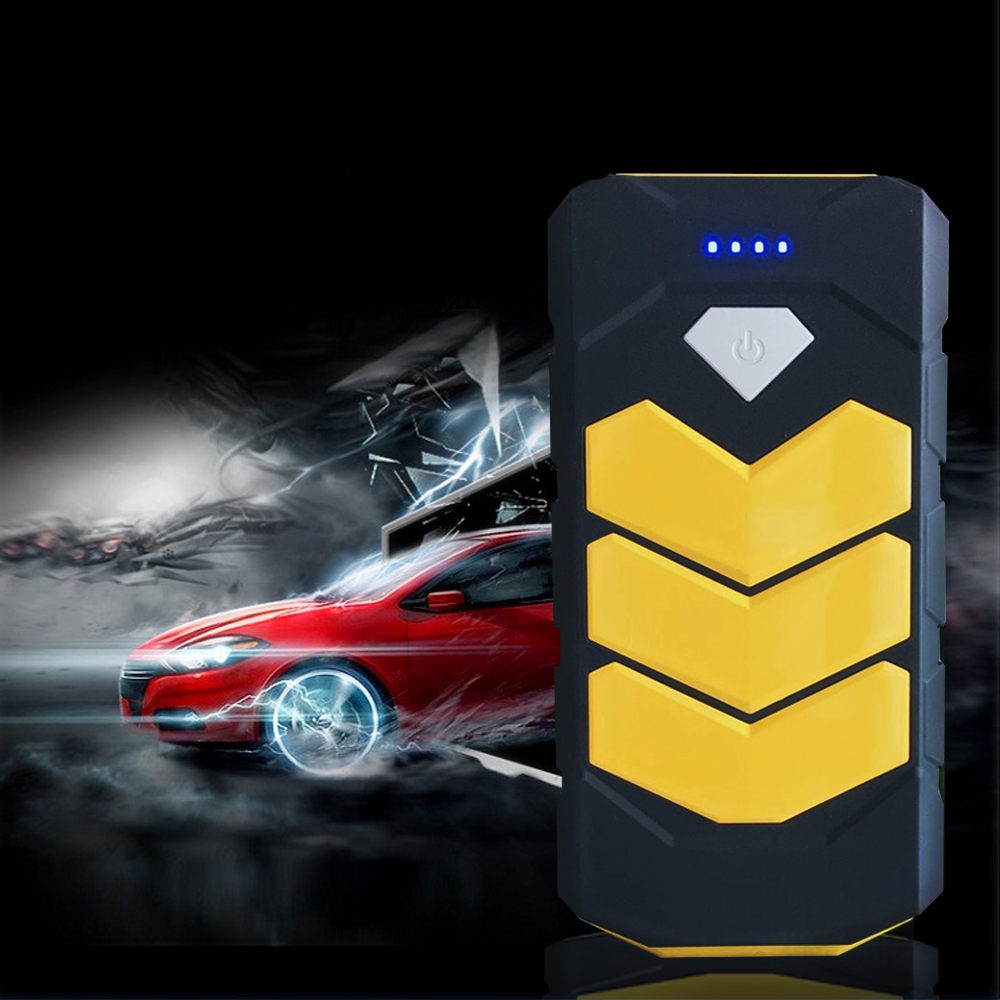 2017 Super Starting Device 20000mAh Car Jump Starer Portable Car-Styling 400A Start-Car Charger Booster Buster 2USB Power Bank 2017 30000mah 12vportable car jump booster led charger emergency start power bank new