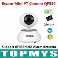 Escam Indoor PT IP Camera QF550 720P P2P Home Security CCTV Camera IR Night Vision H