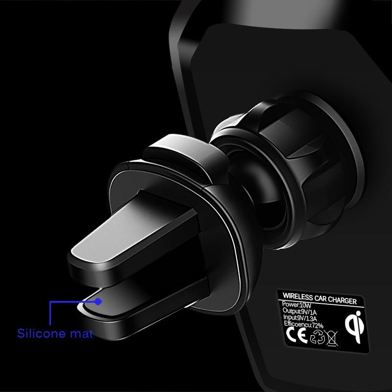 CinkeyPro Wireless Autoladegerät für iPhone X 8 XS Samsung XiaoMi - Handy-Zubehör und Ersatzteile - Foto 3