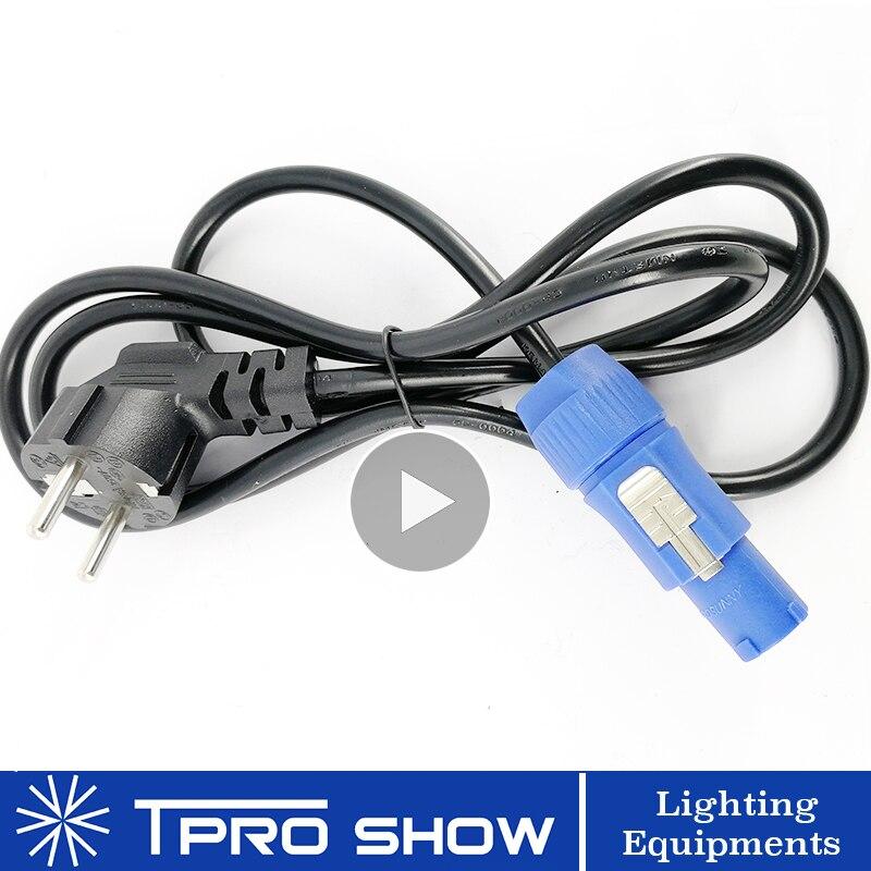 Moving Head Power Cable Plug To Powercon Cable Connector US EU UK AU Plug For Stage Light Machine DJ Equipment Powercon Eu Plug
