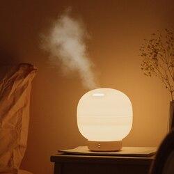 DC24V LED  noc  lekki 500 ml aromaterapia OLEJEK ETERYCZNY Aroma dyfuzor nawilżacz powietrza Mist Maker dla domu stół biurko lampka nocna Oświetlenie nocne LED Lampy i oświetlenie -