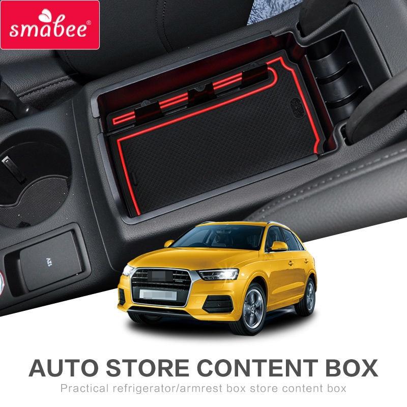 SMABEE Para AUDI Q5 Q3 2009to2017 Reposabrazos Caja de - Accesorios de interior de coche - foto 1