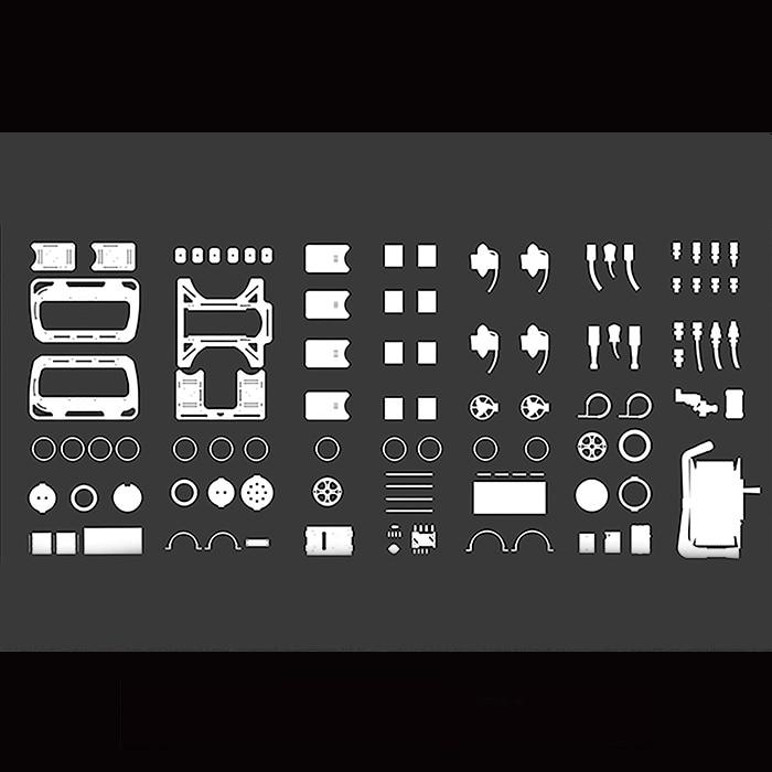 Kit de bricolage ROV OpenROV bricolage cadre ouvert véhicule télécommandé universel développer des ensembles cadre autonome pièces de véhicule sous-marin