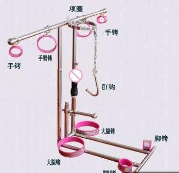 Mandatory handcuffs fetish bdsm women sex bondage restraints set device,sex slave erotic toys(collar/ handcuffs/ Legcuffs Etc.)