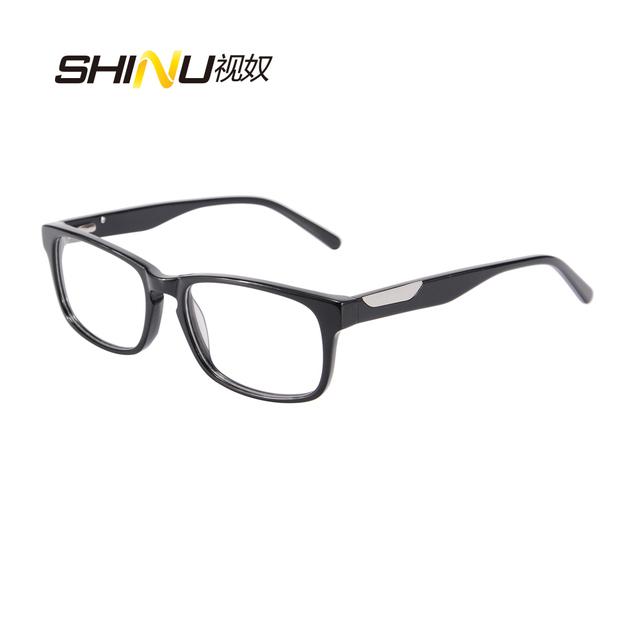 Top Moda de Nova Flexível Unisex Óculos Mulheres Homens Óculos de Acetato de Prescrição Miopia Óculos Frames Oculos de grau SR1643