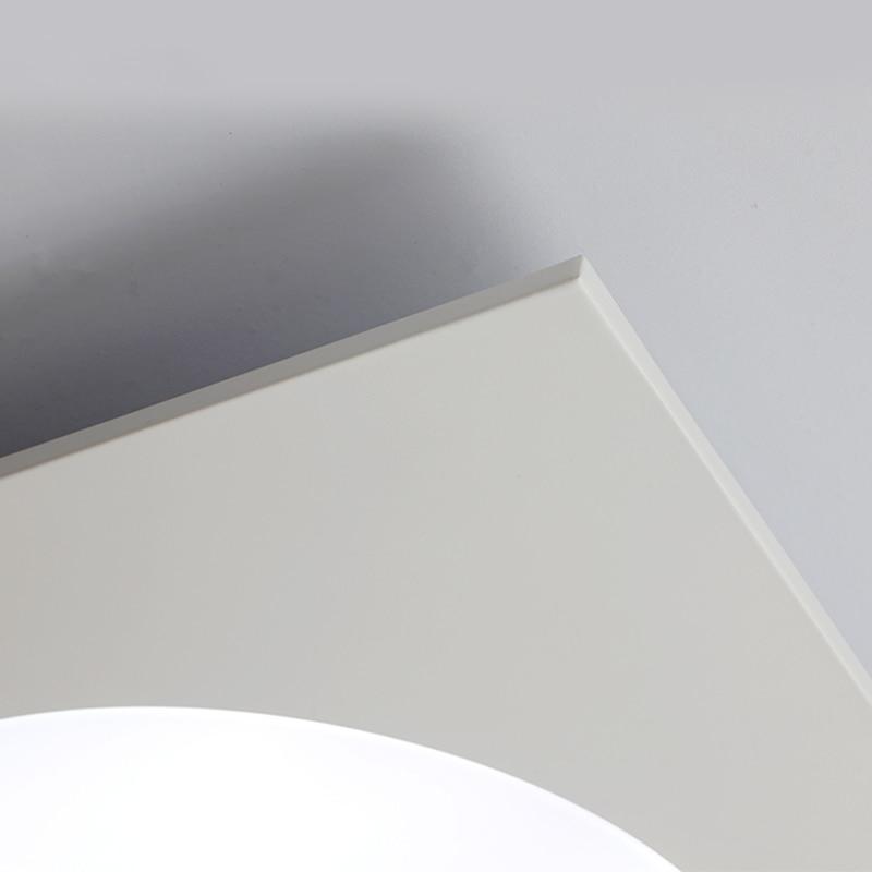 Vente chaude 20 38 40 W Carré Led Plafond Lampe Pour Salon Cuisine