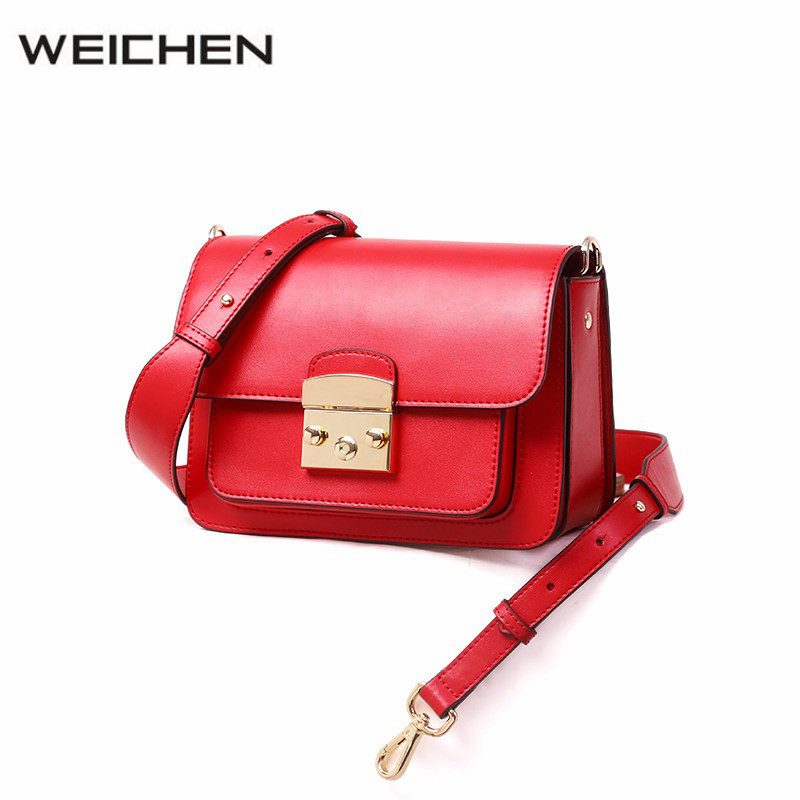 Shoulder Bags Women Casual Wide Strap Red Flap Bags PU Leather Women Cross Body Bag Sac A Main Female Crossbody Messenger Bags new women bags pu leather fashion small shell bag women shoulder bag summer casual female cross body bags for women