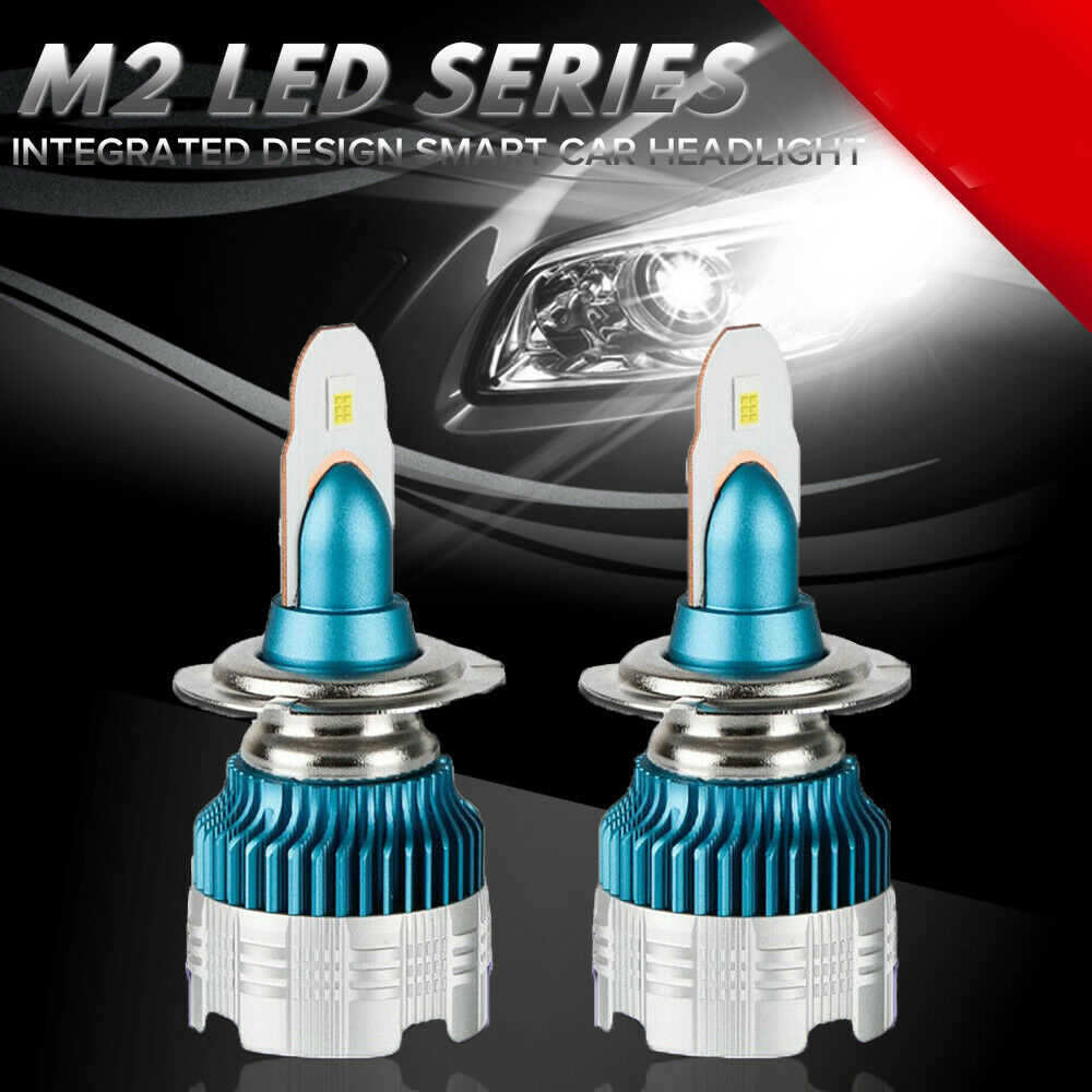 2 X 50W 6000LM Mi2 Car LED Headlight Bulb H1 H3 H4 H7 H8/H9/H11 9005 9006 Car Fog Lamp Kit White 6500K Car Accessories